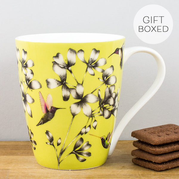 Harlequin Amazilia Gooseberry China Mug