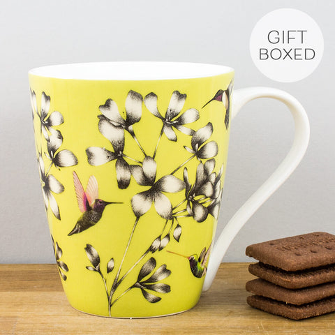 Harlequin Amazilia Gooseberry China Mug by Churchill