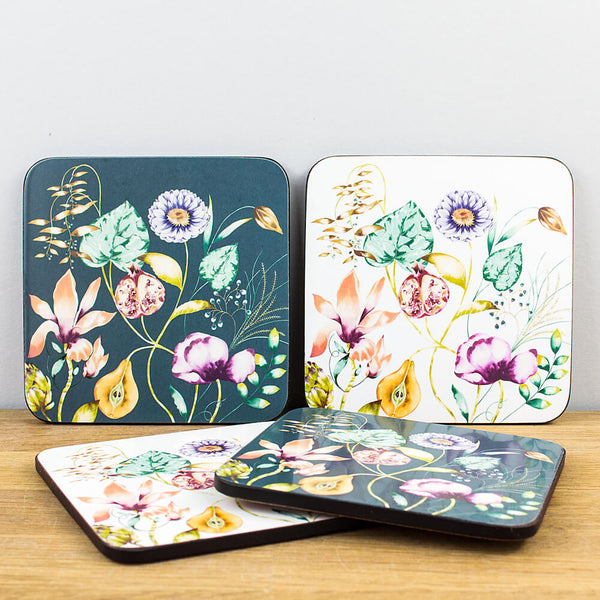 Harlequin Quintessence Set of 4 Coasters