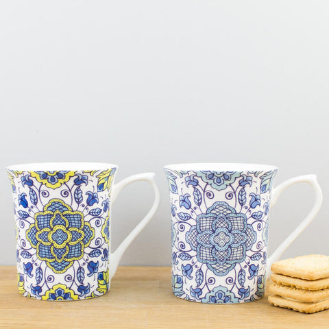 Hidden World Portugal China Mug Set by Churchill