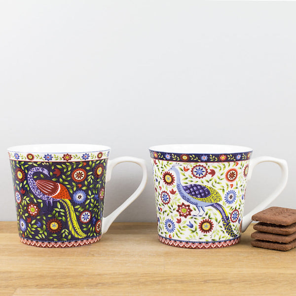 Hidden World Udai Palace China Mug Set