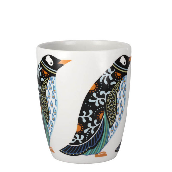Churchill China Paradise Birds Penguins Fine China Gift Mug UK Made