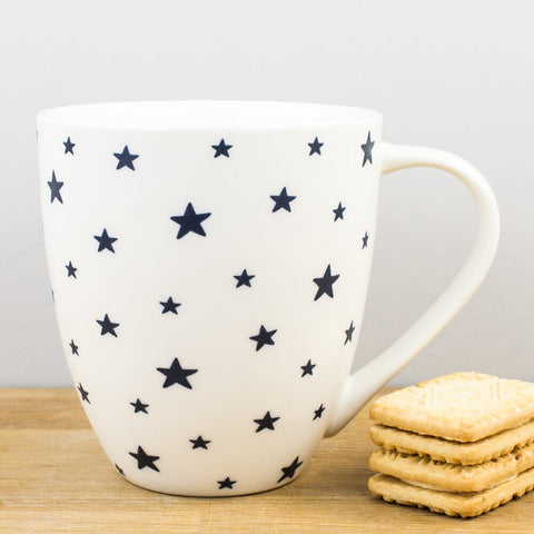Couture Sieni Stars China Mug by Churchill China