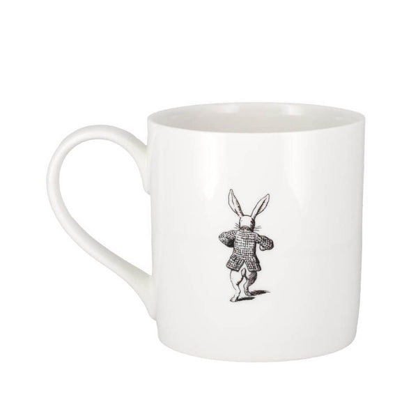 V&A Alice in Wonderland The White Rabbit Fine China Gift Boxed Mug
