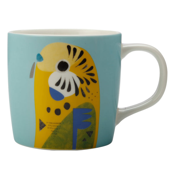 Maxwell & Williams Pete Cromer Budgerigar Mug