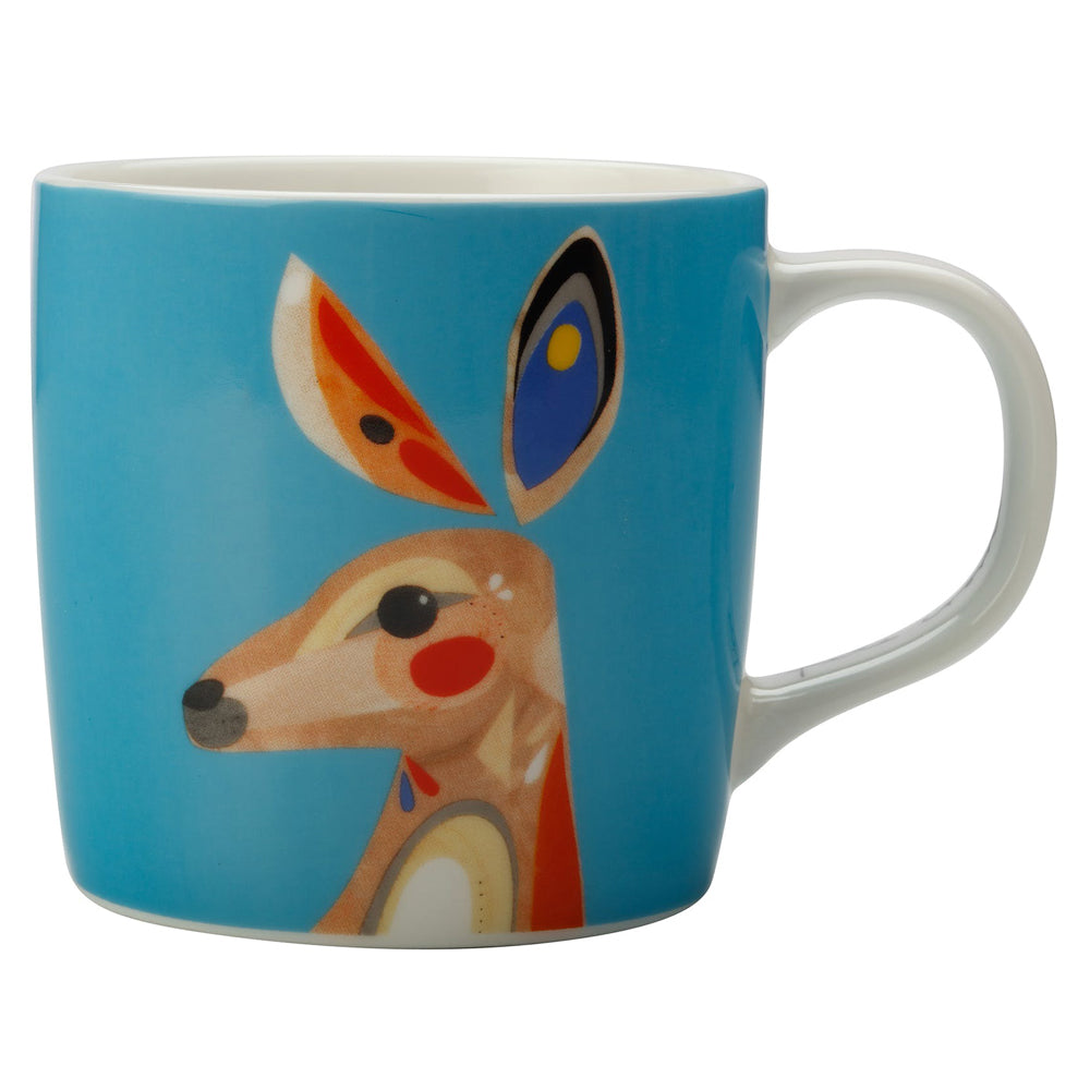 Maxwell & Williams Pete Cromer Australian Kangaroo Gift Boxed Mug