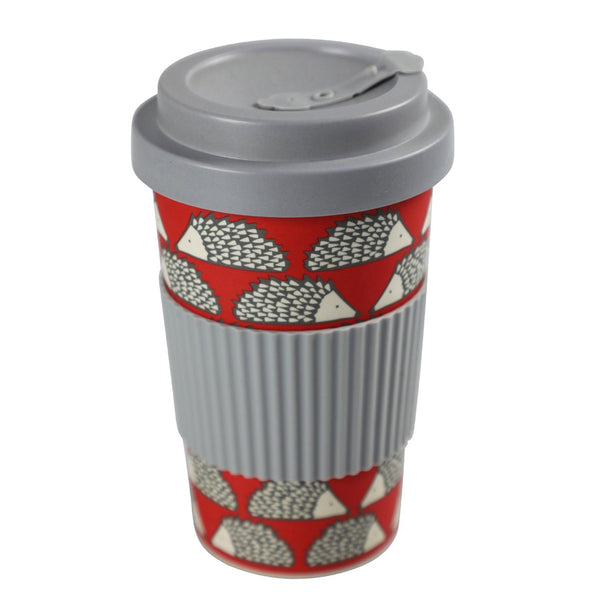 Scion Spike Red Bamboo Travel Mug
