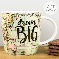 Legami Dream Big Personalised Gift Box Mug