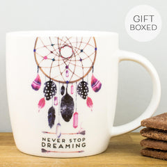 Legami Never Stop Dreaming Personalised Gift Box Mug