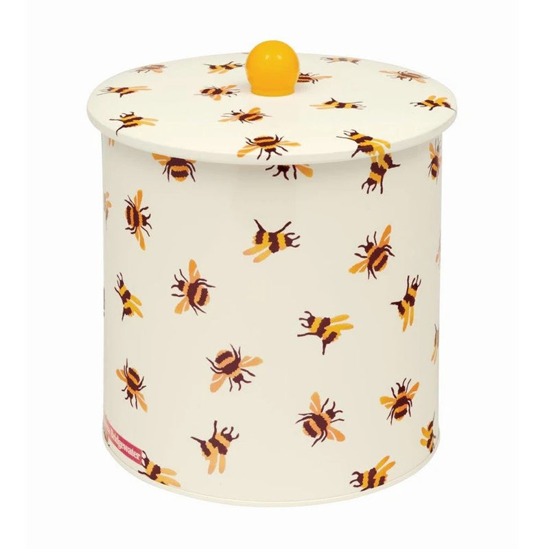 Elite Tins Emma Bridgewater Bumblebee Print Large Tin Biscuit Barrel