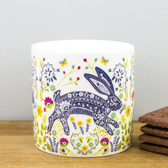 Ulster Weavers Woodland Hare Floral New Bone China Gift Mug Coffee Cup