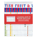 Stuart Gardiner Design Guide to Seasonal British Fruit & Veg Tea Towel