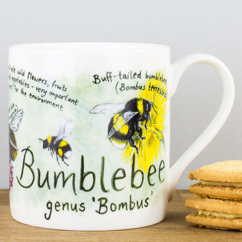 Bumblebee China Mug by Ginger Bee