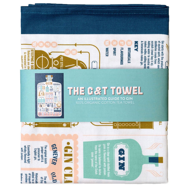 The G & T Towel Cotton Tea Towel