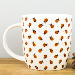Legami Good Luck for Today Ladybirds Personalised Gift Box Mug
