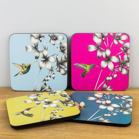 Harlequin Amazilia Set of 4 Coasters by Churchill