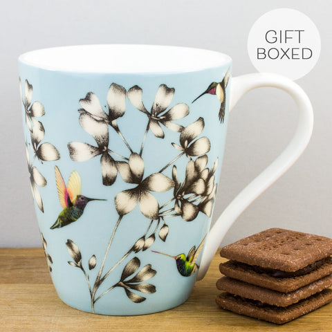 Harlequin Amazilia Sky Mug by Churchill China