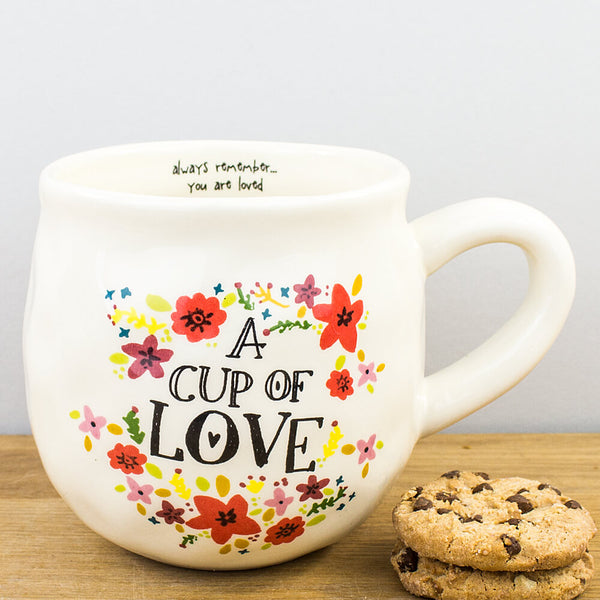A Cup of Love Ceramic Mug