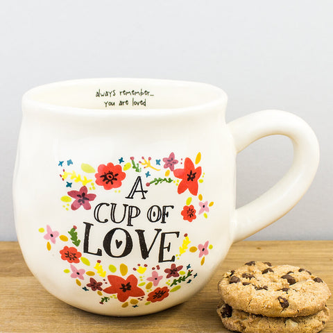 Natural Life A Cup of Love Ceramic Mug