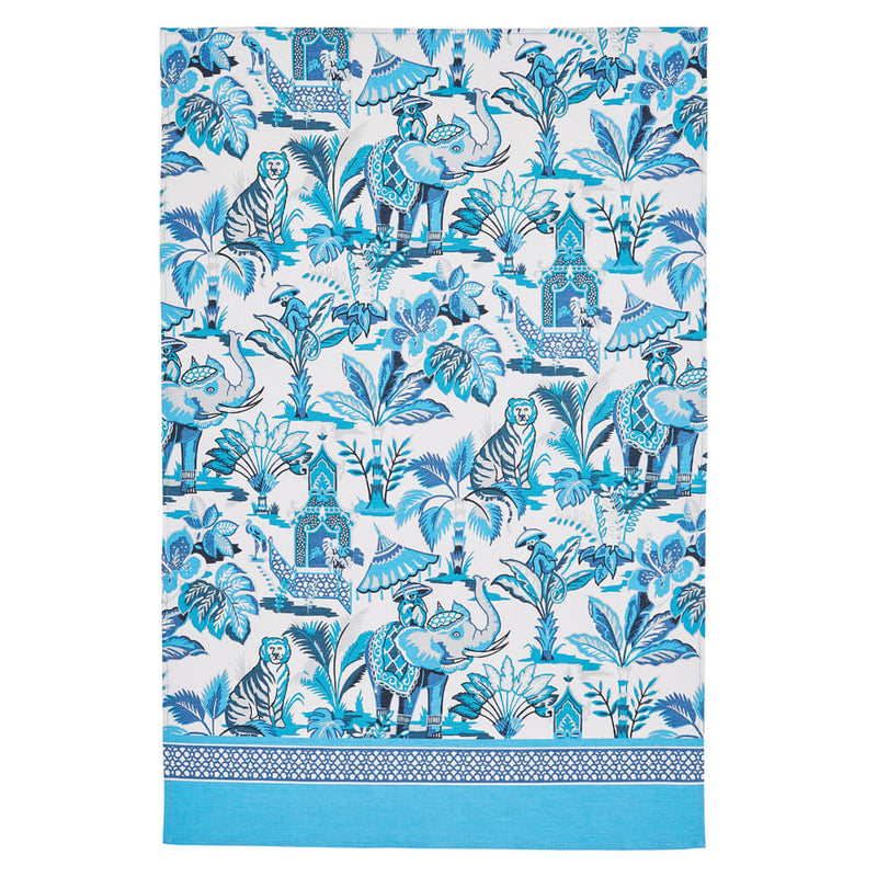 Ulster Weavers India Blue 100% Cotton Kitchen Tea Towel