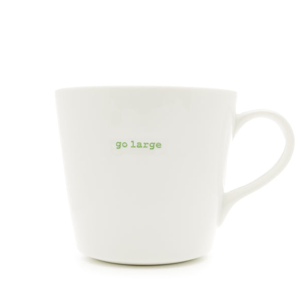 Keith Brymer Jones Go Large Porcelain Mug