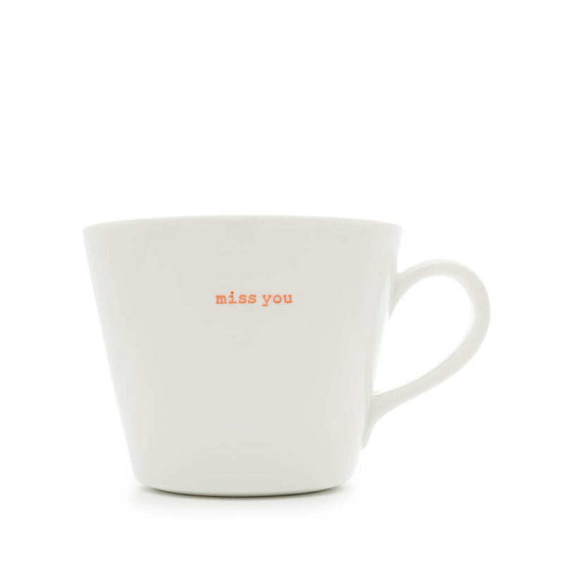 Keith Brymer Jones Miss You Porcelain Mug