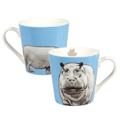 Churchill China Couture Animal Kingdom Hippo Gift Fine China Mug
