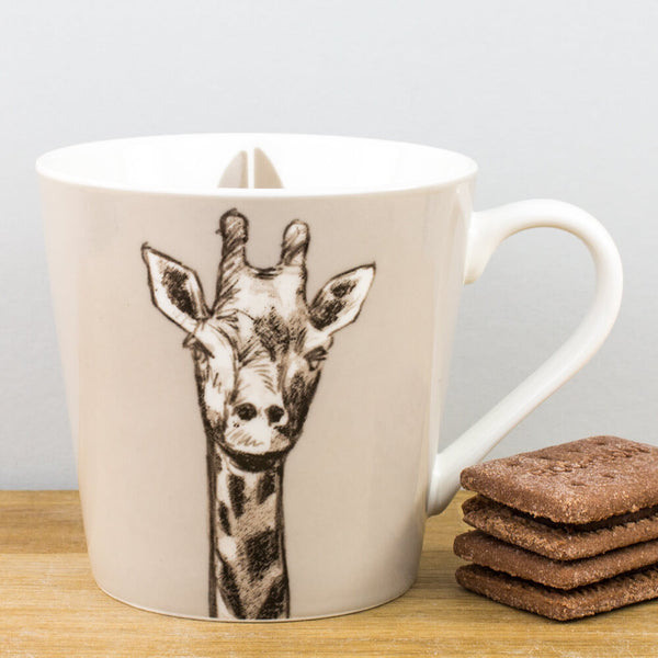 Couture Kingdom Giraffe China Mug