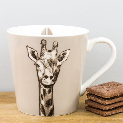 Couture Kingdom Giraffe China Mug by Churchill