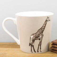 Churchill China Couture Animal Kingdom Giraffe Gift Fine China Mug