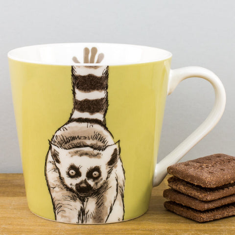 Couture Kingdom Lemur China Mug by Churchill China