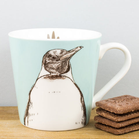 Couture Kingdom Penguin China Mug by Churchill China