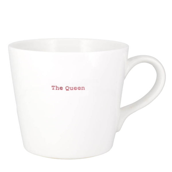 MAKE Int Keith Brymer Jones The Queen Large 500ml Porcelain Gift Mug
