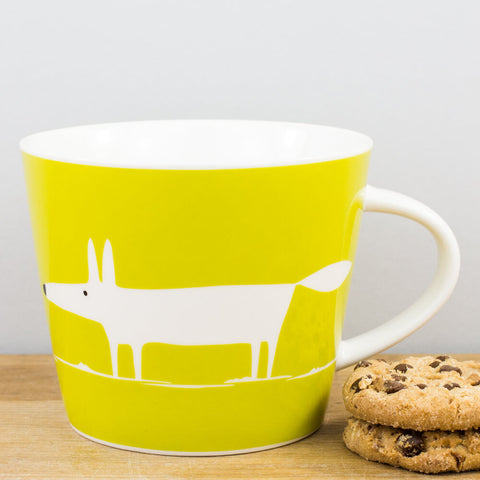 Mr Fox Just Greens China Mug by Scion