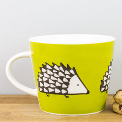 SCION Living Spike Lime Green Personalised Fine China Gift Mug