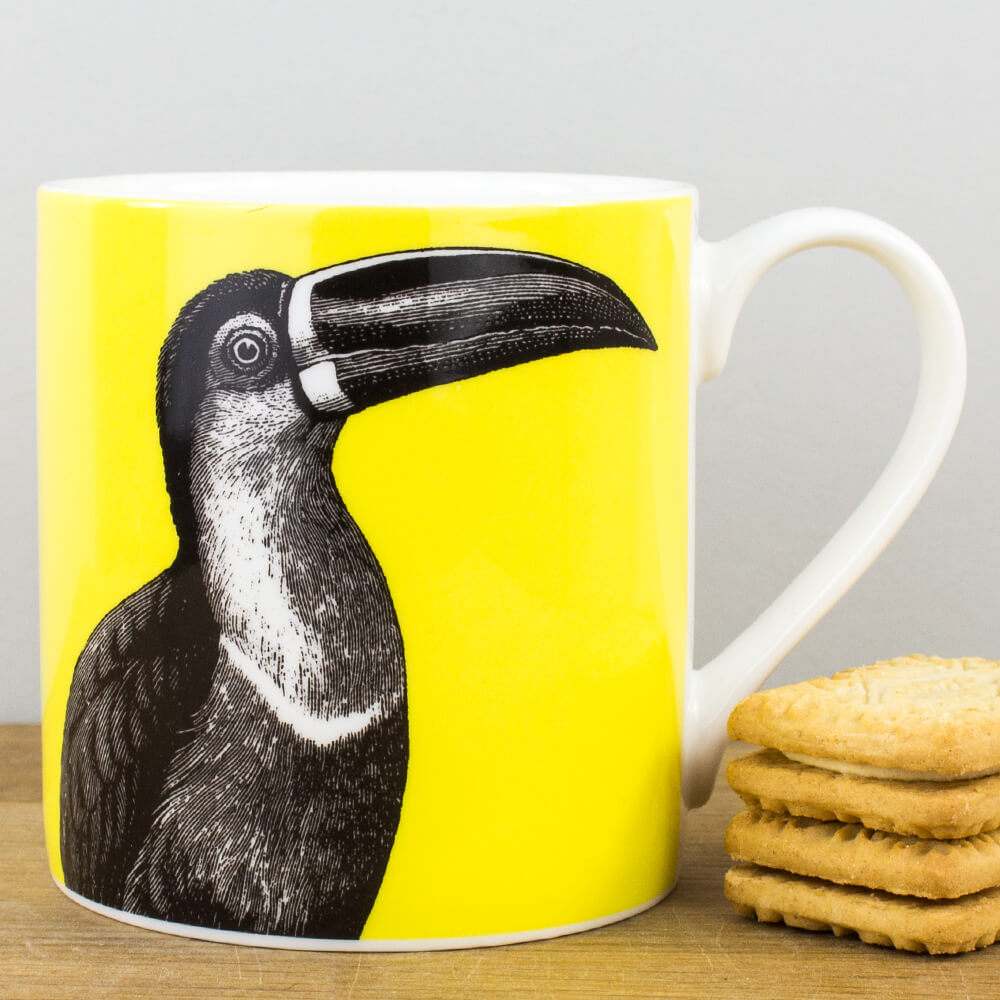 McLaggan Alice Scott Contemporary Toucan Fine Bone China Gift Mug