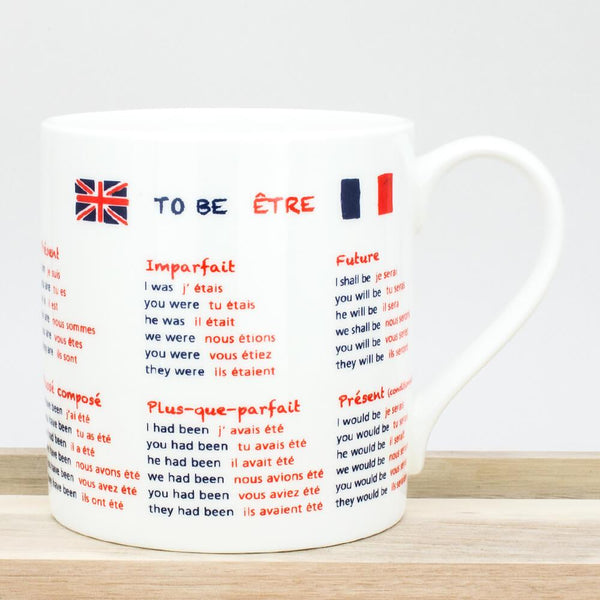 Educational French Translation China Mug