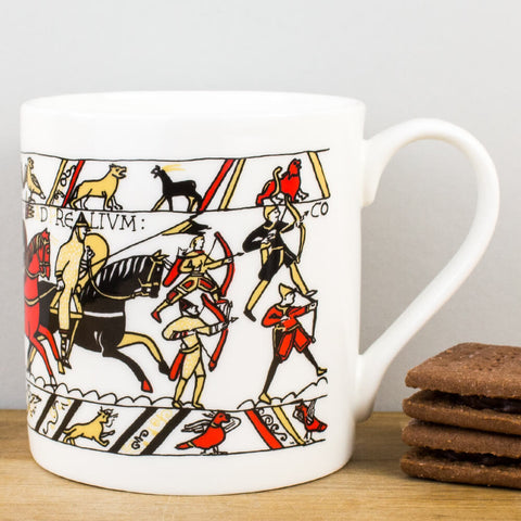 Heritage Bayeux Tapestry Archers China Mug