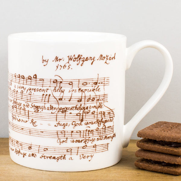 Heritage Mozart China Mug