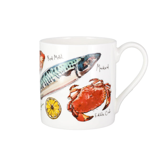 Madeleine Floyd Fish China Mug