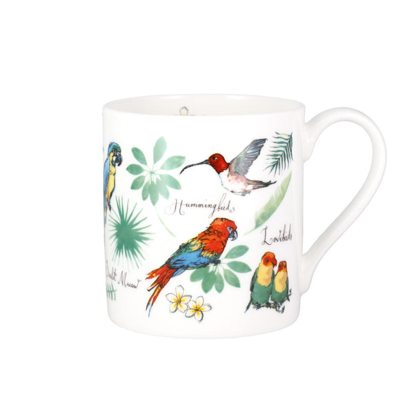 Madeleine Floyd Tropical Birds China Mug