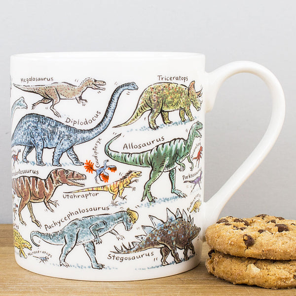 Picturemaps Dinosaurs China Mug