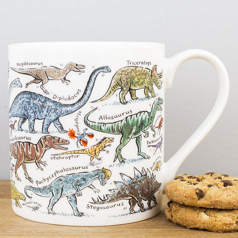 Dinosaurs China Mug by Picturemaps