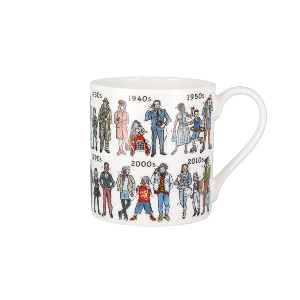 Picturemaps Fashion Through The Decades China Mug