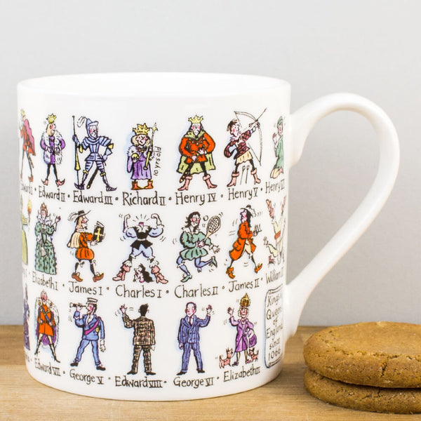 Picturemaps Kings & Queens China Mug