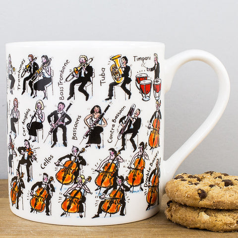 Orchestra China Mug by Picturemaps