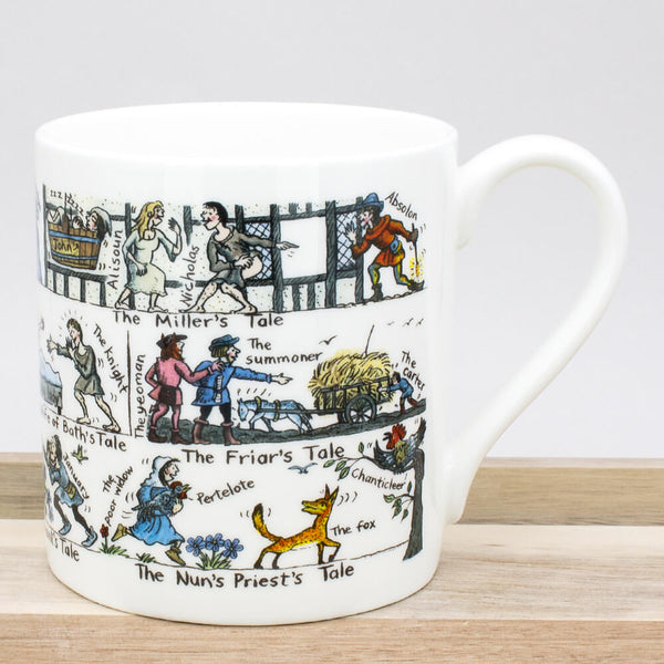 Picturemaps The Canterbury Tales China Mug