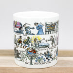 Picturemaps The Canterbury Tales Literary Book Themed Bone China Mug
