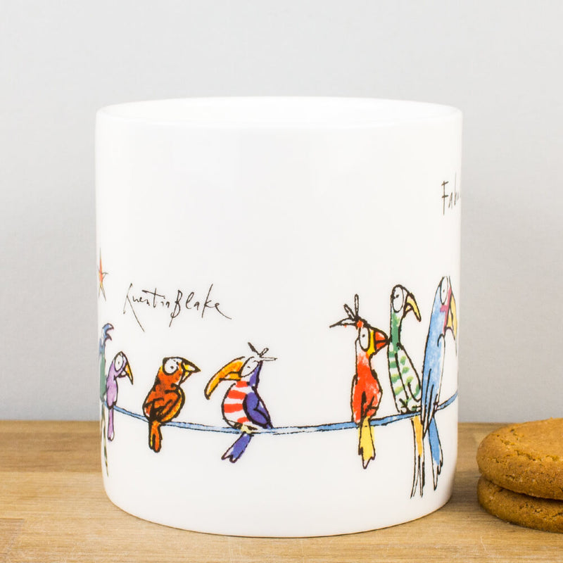 Quentin Blake Fabulous Friends Bone China Personalised Gift Mug