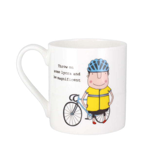 McLaggan Rosie Made A Thing Be Magnificent Bone China Gift Coffee Mug